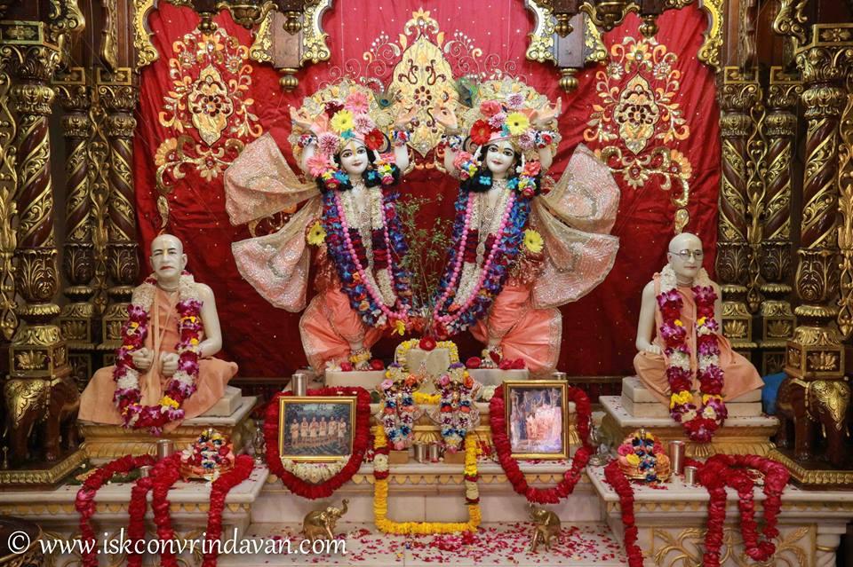 ISKCON Vrindavan Shringar Deity Darshan 2 April  2016  (12)