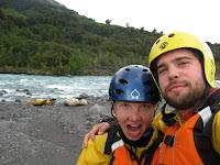 Rafting the Petrohue River
