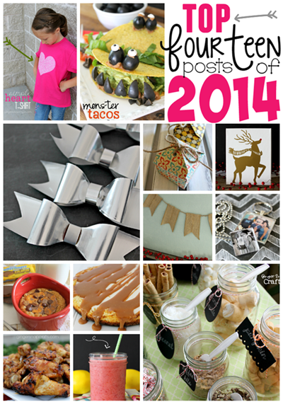 Top 14 Posts of 2014 at GingerSnapCrafts.com #bestof2014 #blogger_thumb[2]