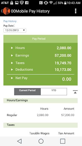 Kronos Mobile screenshot
