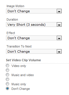video slides