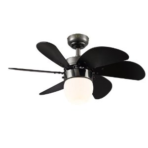 Grey//White 48-Inch Ceiling Fan with 3 Blades Canarm LTD Calibre BPT 48 Frosted Glass 1 Bulb Light Kit