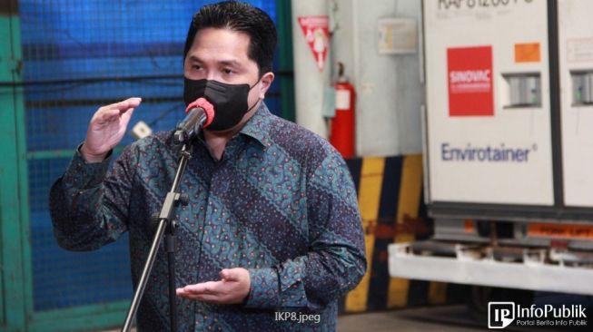 Menteri BUMN Erick Thohir Rombak Jajaran Direksi Surveryor Indonesia