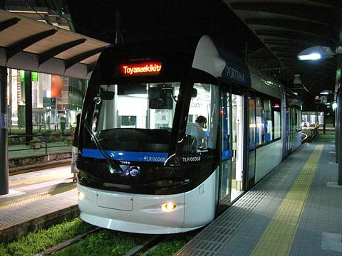 富山ライトレール 富山港線「ポートラム」 TLR0606