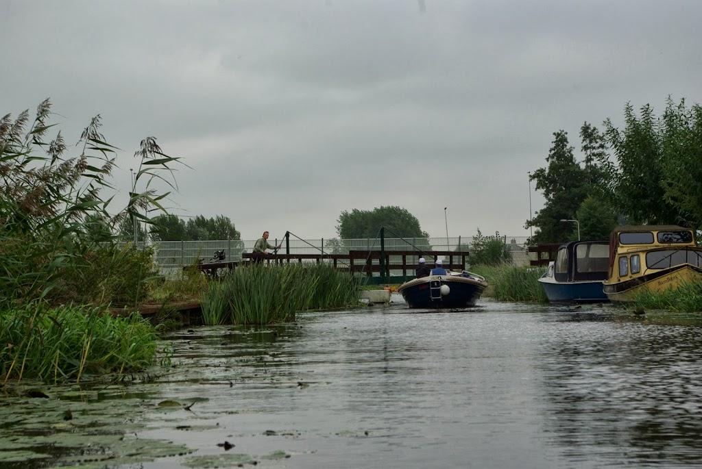 Ab bedient de brug in de Vrouwenvaart (foto: PdG)