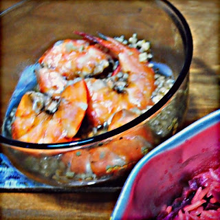 steamed DOM prawns by ServicefromHeart