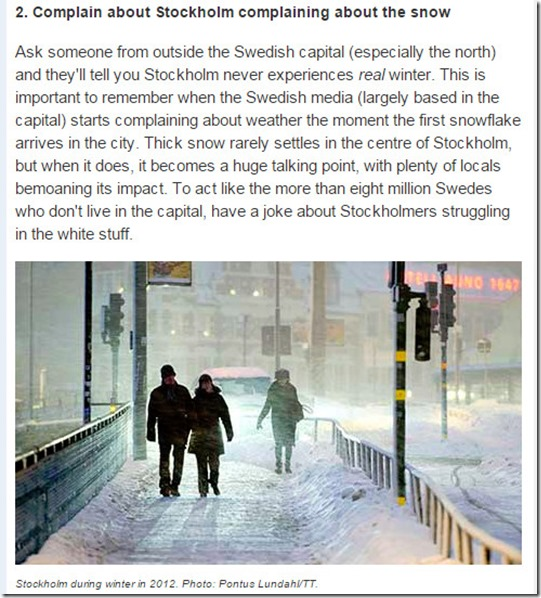 sweden winter tips