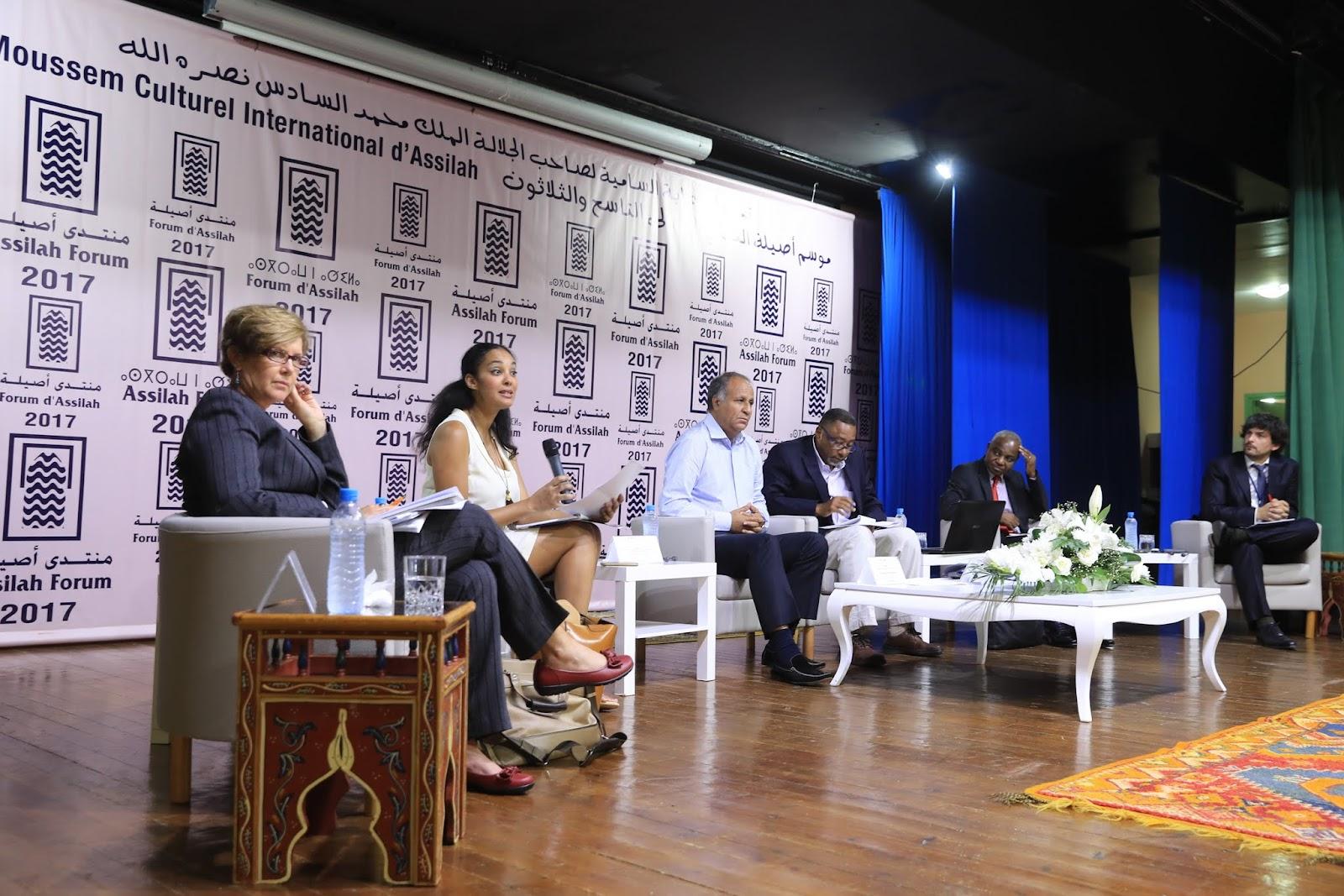 2017-07-08 صباح اليوم الثاني لندوة افريقيا والعالم اي عالم