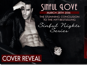 Cover Reveal: Sinful Love (Sinful Nights #4) by Lauren Blakely + Excerpt and GIVEAWAY
