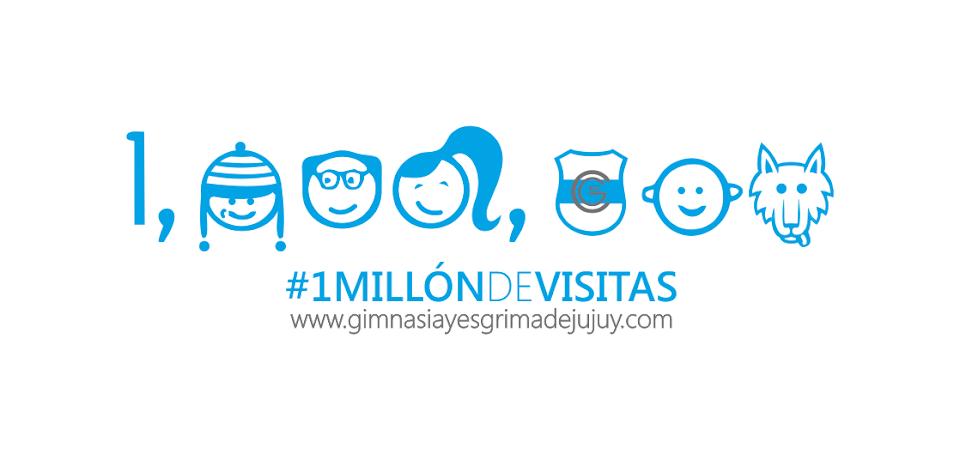 Gimnasia de jujuy - 1 millón de visitas - GyE de Jujuy