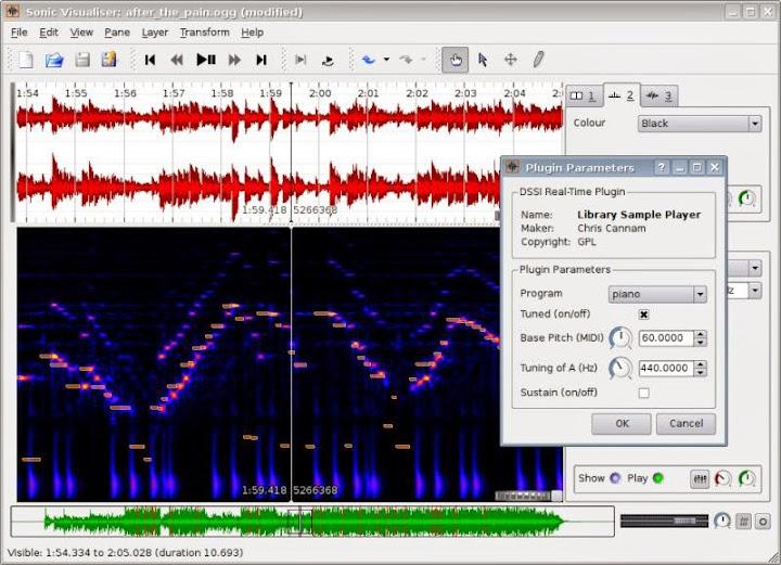 analyseur de spectre mac