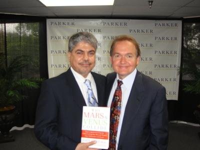 Wael Dr John Gray Book Signing, Dr Gray
