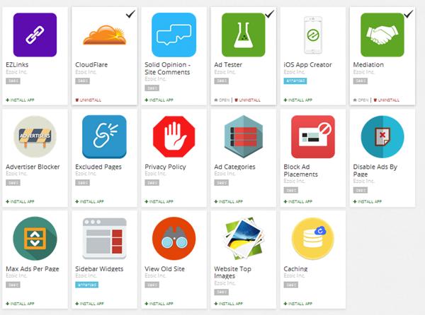 Ezoic App Store