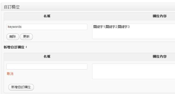 Wordpress免外掛SEO