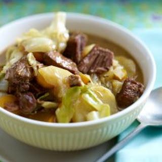 Irish Stew mit Weißkohl
