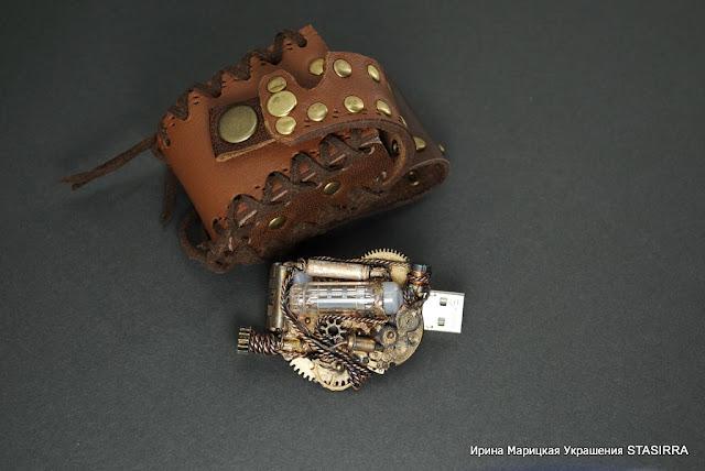 НЕбисерная лавка чудес: Флешки компьютерные. Работы моего мужа.