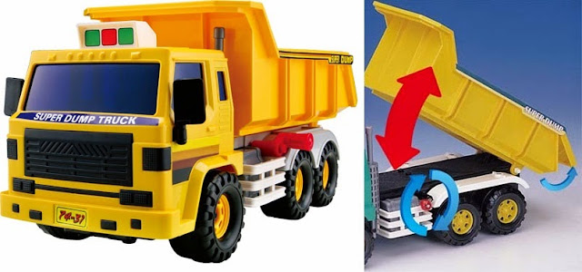 Mô hình Xe Ben Super Dump Truck Daesung DS-406 thiết kế sinh động