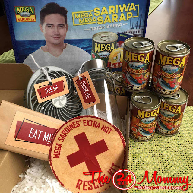 Piolo Pascual for Mega Extra Hot Sardines