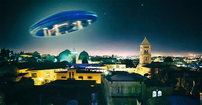 Incidente de UFO de Jerusalém hoax ou real 01