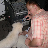 Nala z mikrofonem (14.06.2008r.)