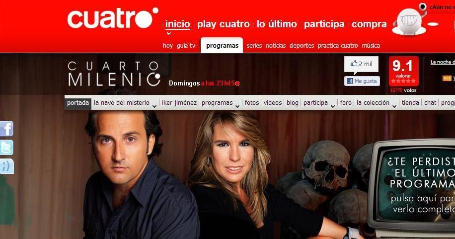 Antonio rodriguez diaz torbeo filomena arias a bruxa de for Tv cuatro cuarto milenio ultimo programa