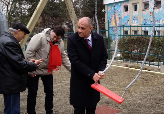 Ştefan Alexandru Băişanu şi Tiberius Brădăţan, loc de joacă