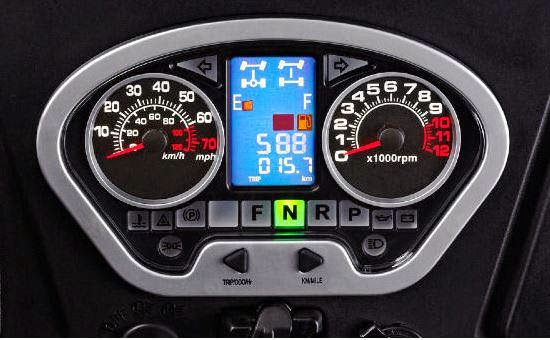 400cc Hisun Side By Side Digital Dash