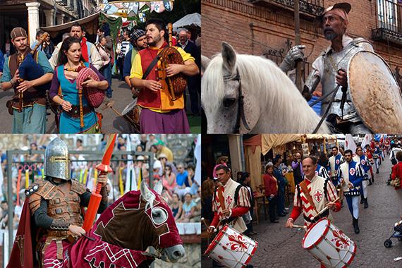 XVII Mercado Cervantino en Alcalá de Henares, del 8 al 12 de octubre 2015