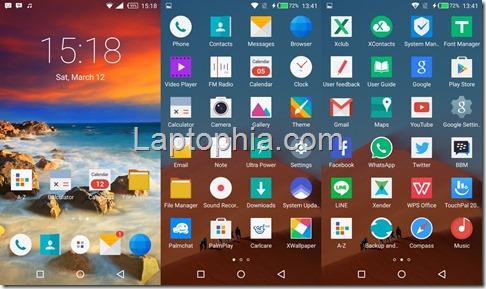 Software Infinix Zero 3 X552