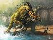 Dinosaur Demon By Njoo
