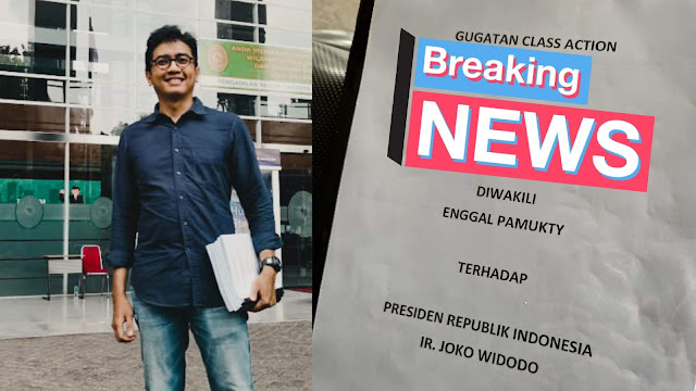 Enggal Pamukty akan Gugat Class Action Jokowi