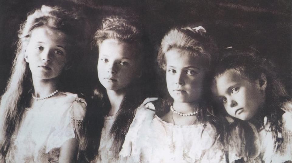 As quatro filhas da família Romanov