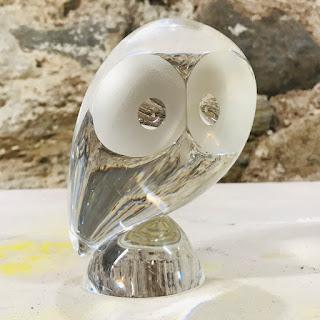 Steuben Glass Owl