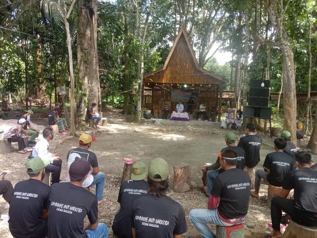 Sosialisasi ke Warga Desa Balida, BNNK Balangan Wujudkan Bebas dari Narkoba