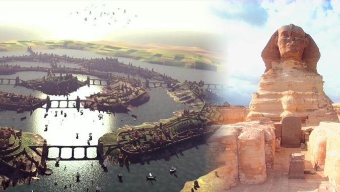 Foi a Grande Esfinge construída pelos Atlantes a milhares de anos atrás 01