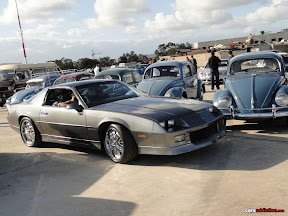 Dark Metallic Gray Pontiac Camaro