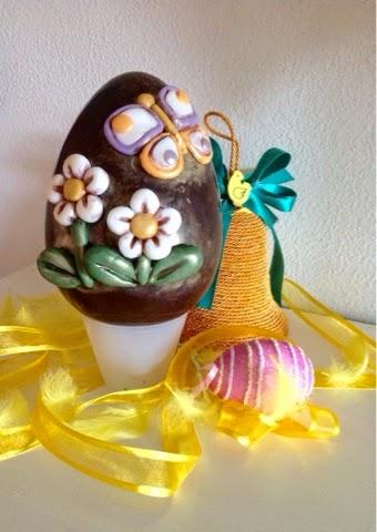 Tutti i colori di cria idee per decorare le uova con la - Idee per decorare uova di pasqua ...