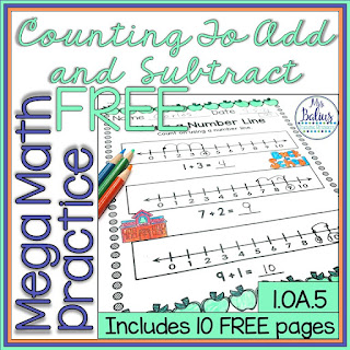 Grab this mega math practice freebie to check out my bundle.