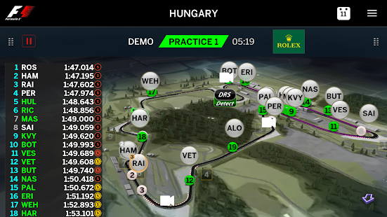 Official F1 ® App- screenshot thumbnail