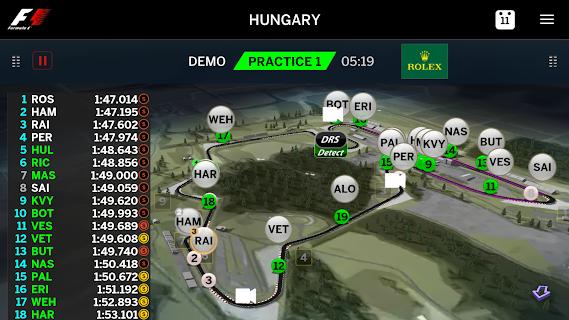 Official F1 ® App screenshot 04
