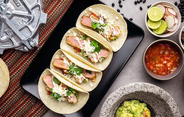 Adobo Pork Tacos Recipe