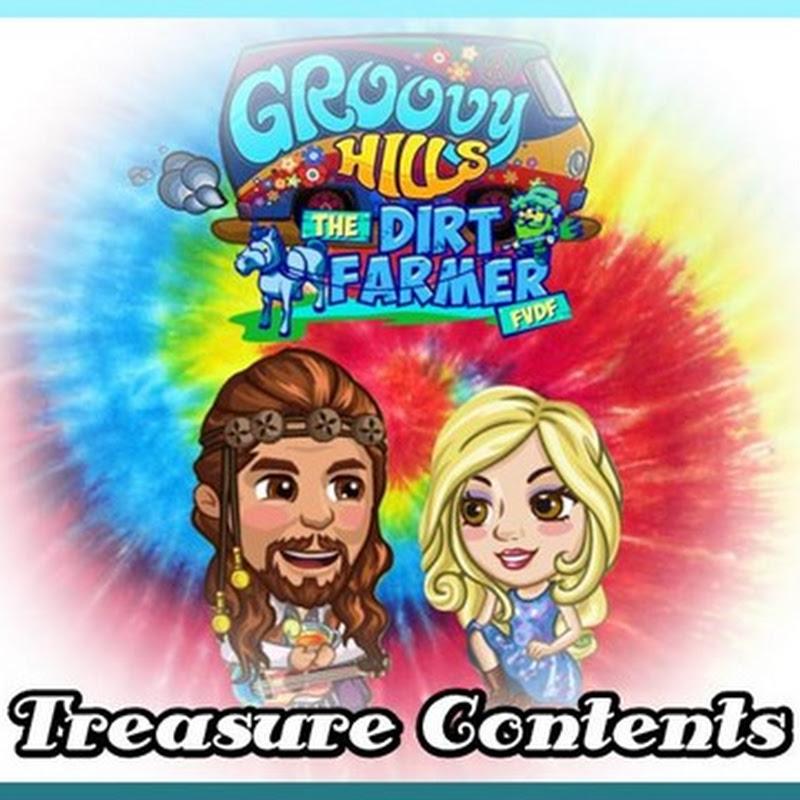 Groovy Hills Farm Treasure Contents