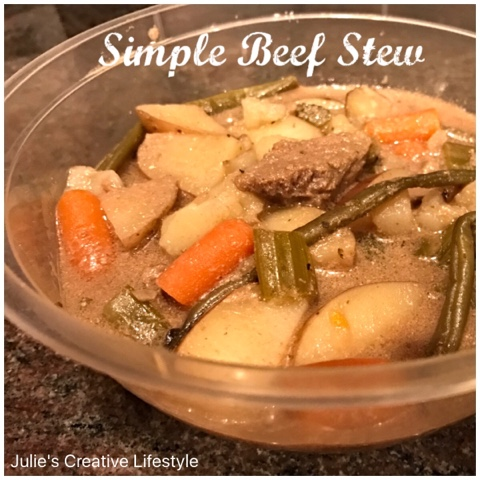 crock pot beef stew @ Julie's Lifestyle