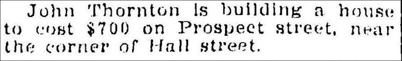 THORNTON_John_bldg house on Prospect St_MuskegonNewsChronicle 5 Aug 1910_pg 5 column 3