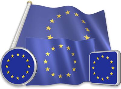 European flag animated gif collection