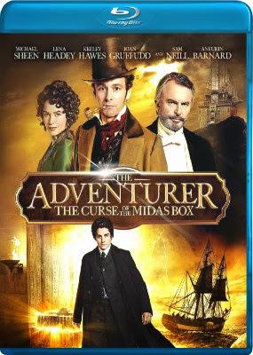 Filme Poster The Adventurer: The Curse of the Midas Box BDRip XviD & RMVB Legendado