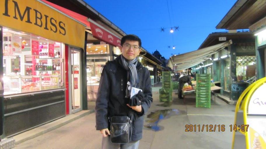 我在維也納的納許市場