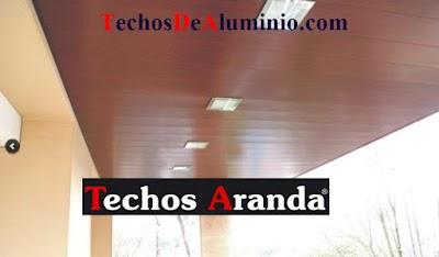 Oferta empresa techos aluminio Madrid