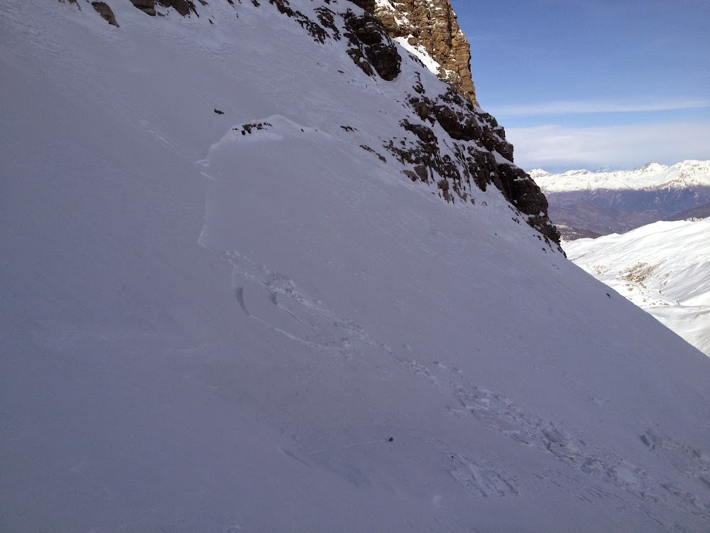 Avalanche Queyras, secteur Pic de Rochebrune - Photo 1