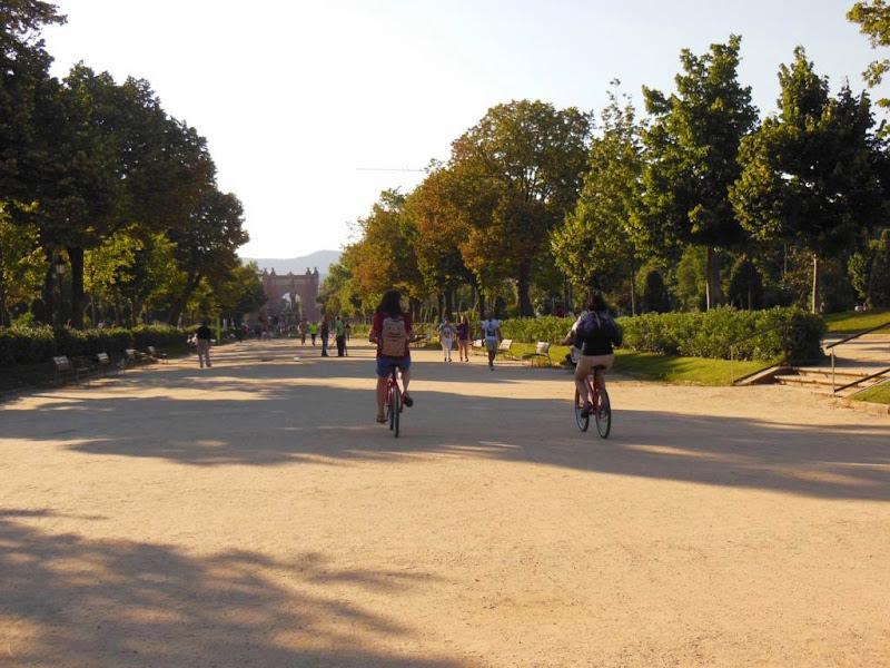 El Parque de la Ciudadela es un recinto de ocio.